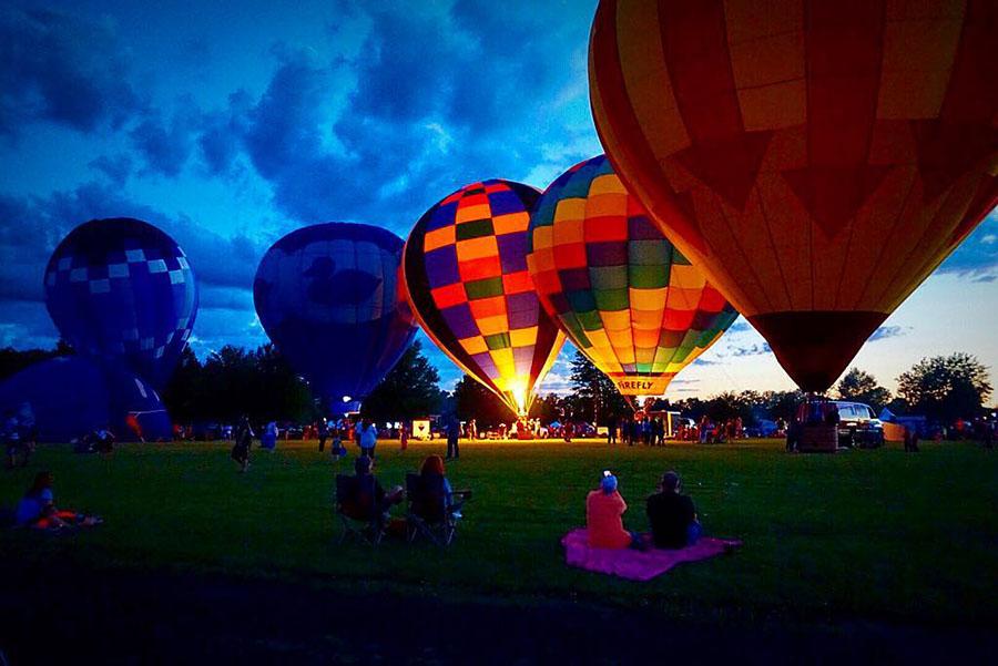 Rib Fest Balloon Glow