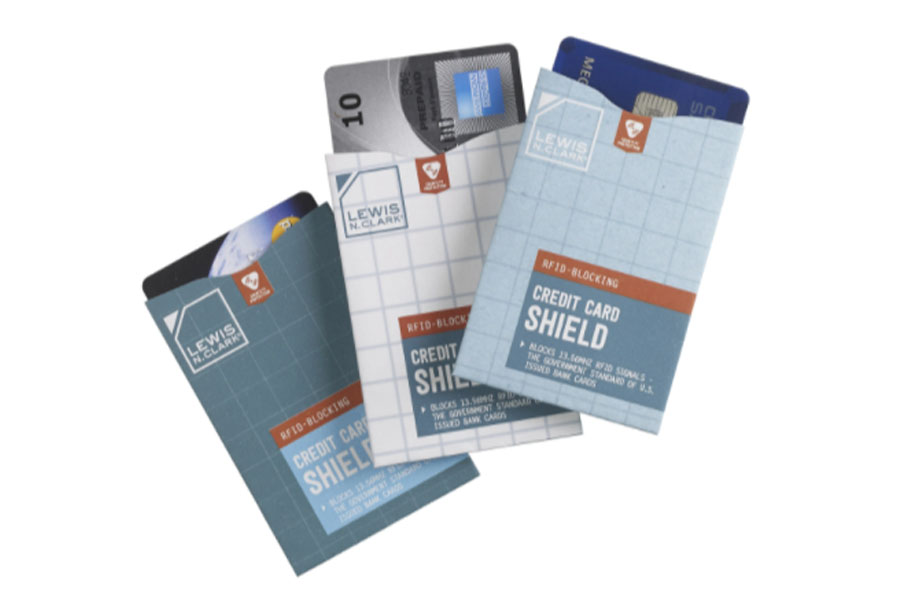 Credit card shield - 3 pack