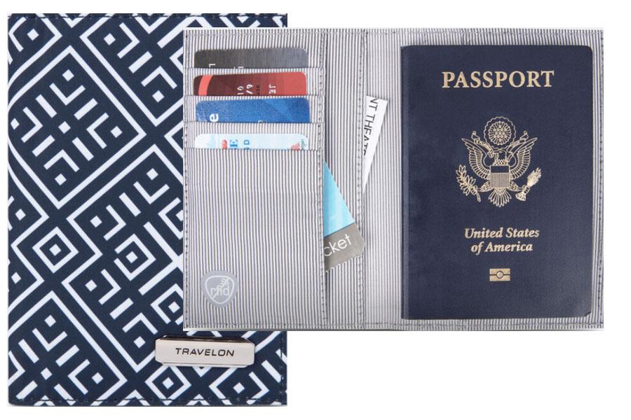 Mosiac passport holder