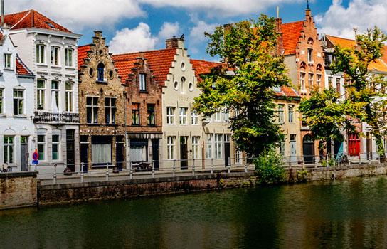 Beautiful Belgium scenery