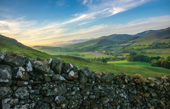 Scottish Stone Wall