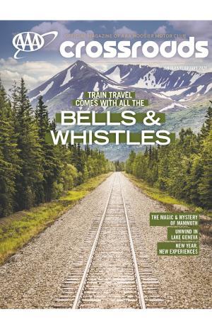 January February Crossroads Magazine Cover