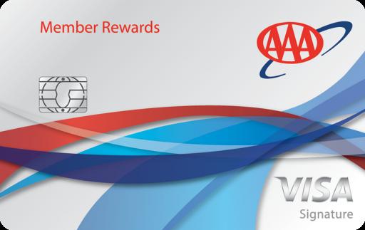 AAA Member Rewards Visa Credit Card