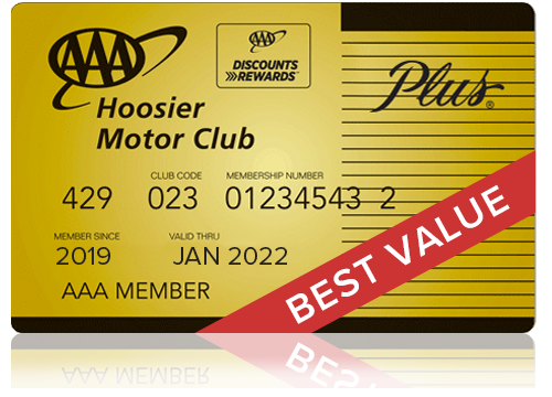 AAA Plus Hoosier Membership Card - Best Value