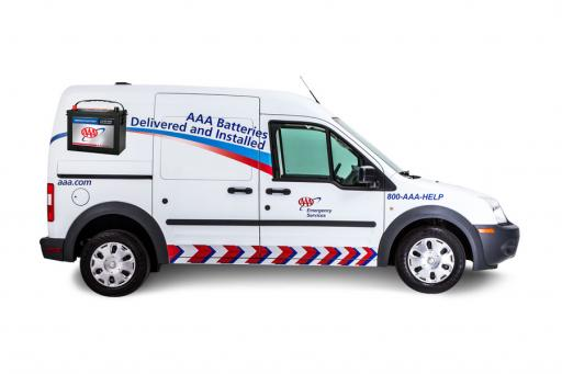 AAA Battery Assistance - Delivered and Installed