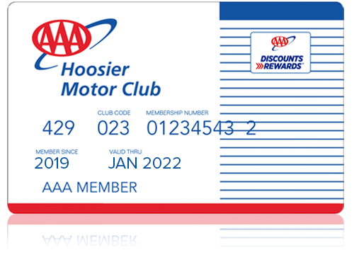 AAA Classic Hoosier Membership Card
