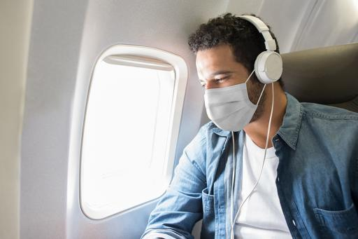 flying with mask