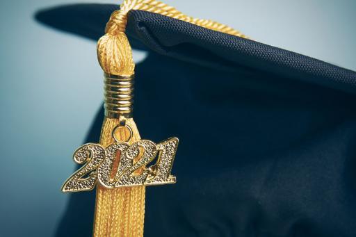 Graduation cap - 2021 tassle