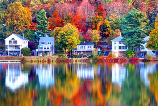New England in the fall.