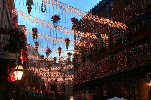Christmas lights New Orleans