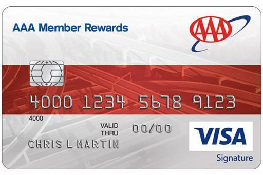 AAA Member Rewards Visa® Credit Card