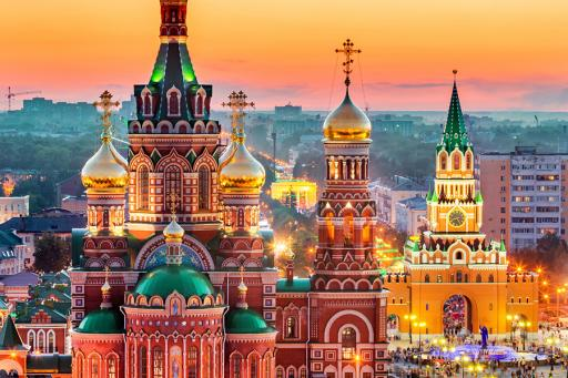 Russia St Basil's Cathedral