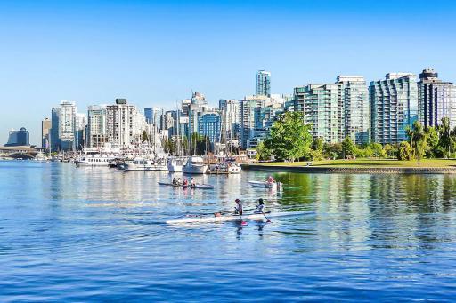 Vancouver, BC scenic view