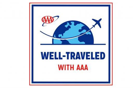 Well Traveled with AAA Logo