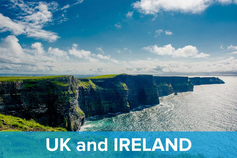 United Kingdom and Ireland Vacations