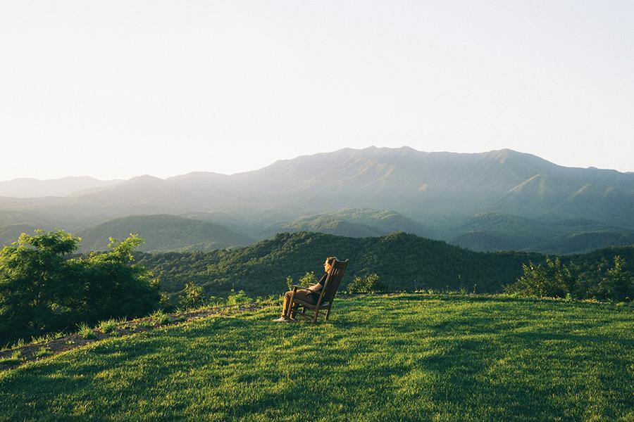 Great Smokey Mountains - Mountain View